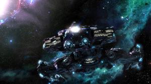 StarCraft II Backgrounds - Hyperion Cruiser