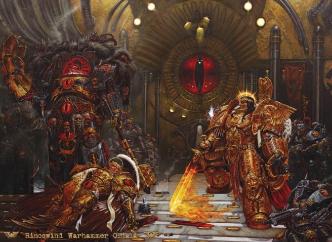 Emperor, Horus, Sanguinius