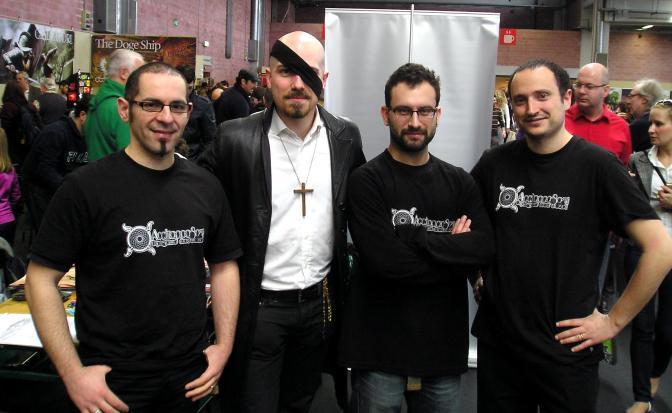 Davide Quaroni, Valerio Delle Piane, Mattia Cappelli, Luca De Marini
