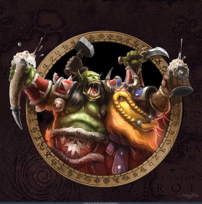 Cercate le taverne condivise, dove orda e alleanza possono bere insieme amichevolmente! ... Vero? (World of Warcraft)