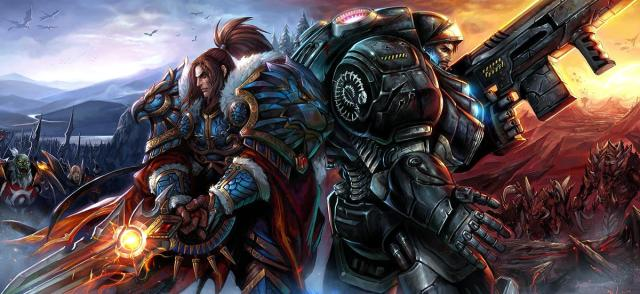 World of Warcraft & Starcraft Crossover