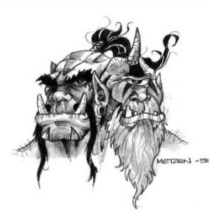 Cho'gall,  il primo Ogre-Mago