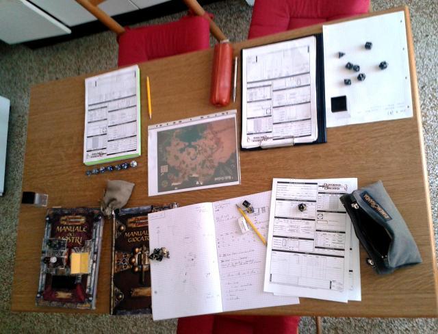 Tavolo da gioco: D&D