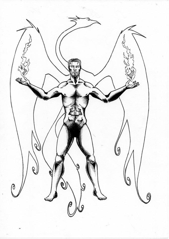 Asterion Stark, Mago del Fuoco di III livello