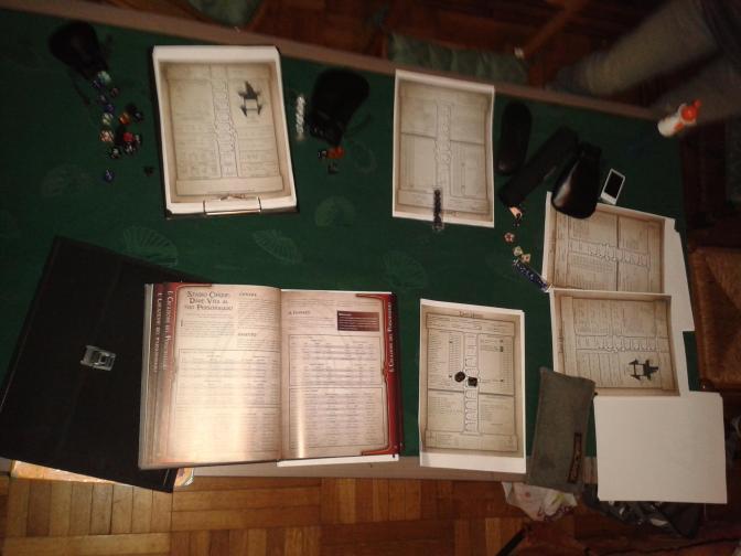 Dark Heresy  -  tavolo da gioco