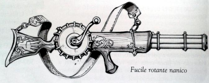 Fucile rotante nanico