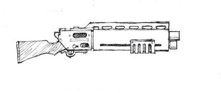 fucile a pompa da battaglia