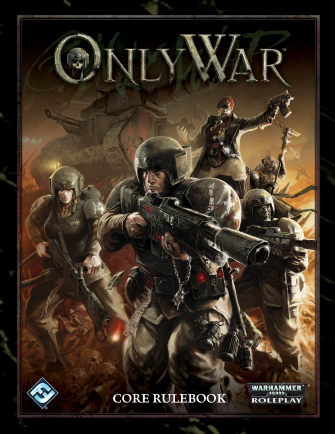 ONLY WAR - Declaration Poster