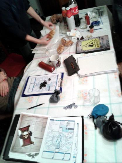 esempio di tavolo da gioco