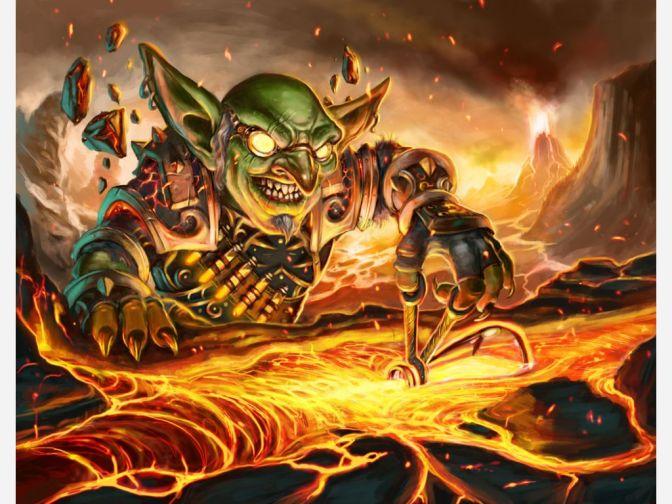 goblin incantatore