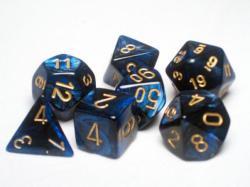 blu dice set