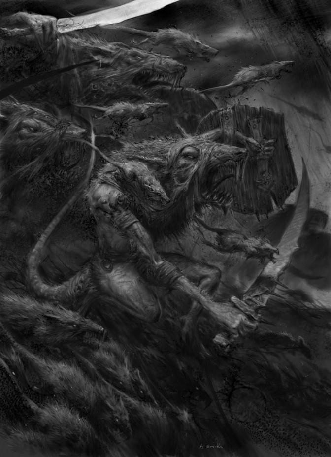 guerrieri del clan skaven warhammer fantasy