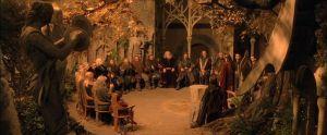 signore degli anelli - consiglio di elrond