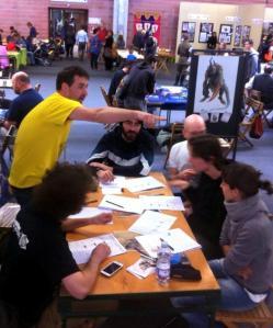 Sessione di gioco (Cronache di Populon) durante l'edizione 2015