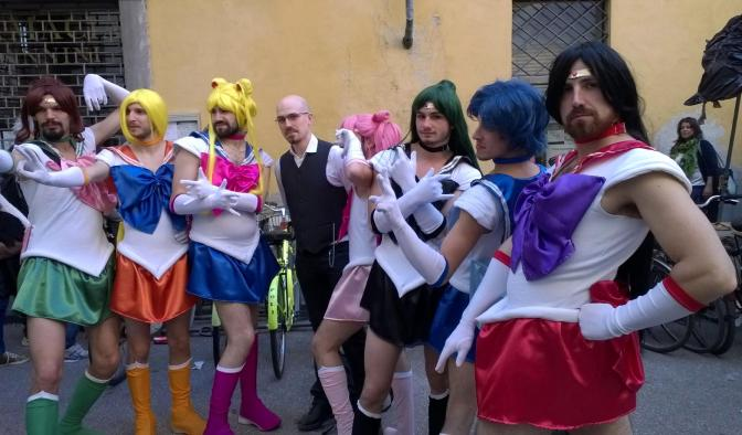 Potrei essermi deliberatamente intromesso in questo cosplay. Forse. But in the manly way. :-P