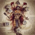 Signore delle mummie - set dadi q workshop