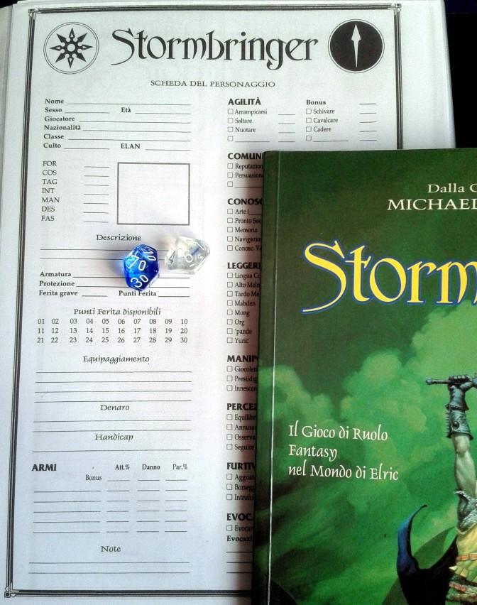 stormbringer - scheda e manuale
