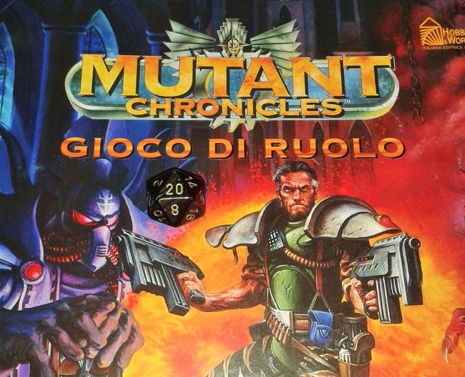 """""""Mutant Chronicles"""", gioco di ruolo"""