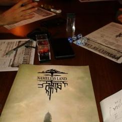 Tavolo da gioco - Nameless Land alla terra di mezzo