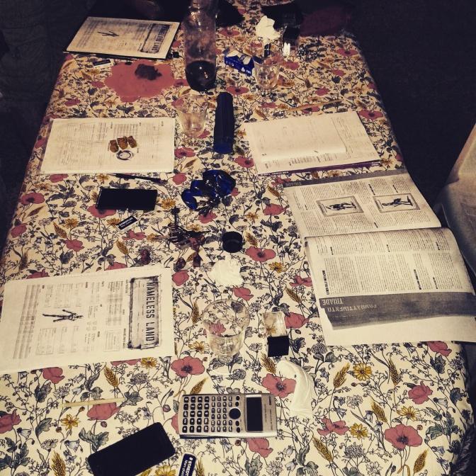 Tavolo di Nameless Land (2)