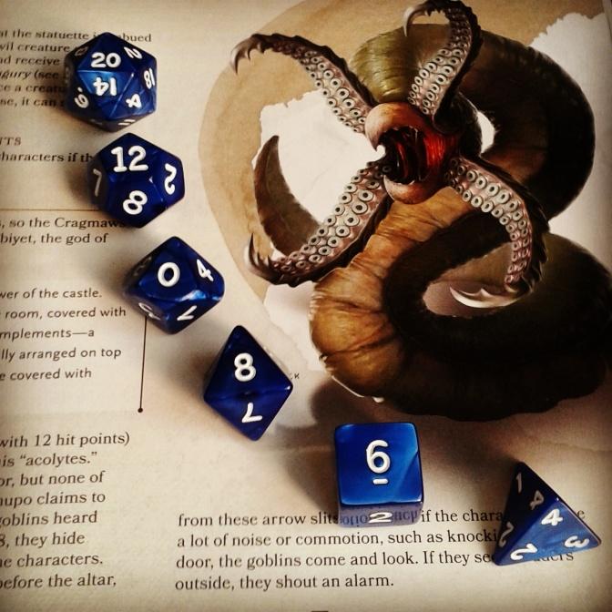 dadi e manuali - D&D 5 monster