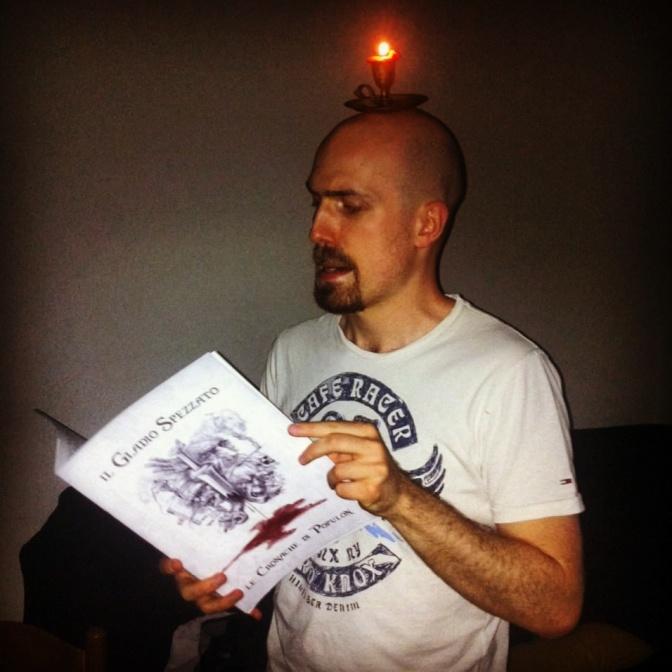 """Goblack versione del Master (orco carceriere - PNG """"il gladio spezzato""""Le cronache di Populon)"""