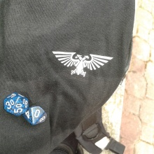 Imperial Eagle & dice