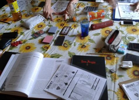 Sine Requie SOVIET - tavolo da gioco