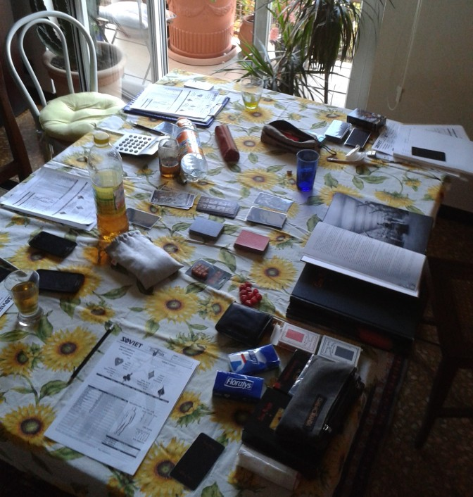 SOVIET sine requie - tavolo da gioco