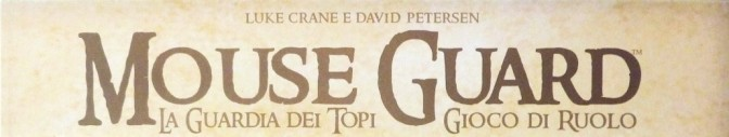 mouse guard banner logo gdr rpg