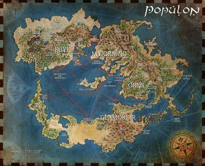 populon - mappa