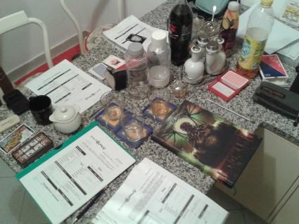 tavolo da gioco - alba di cthulhu & picciotti