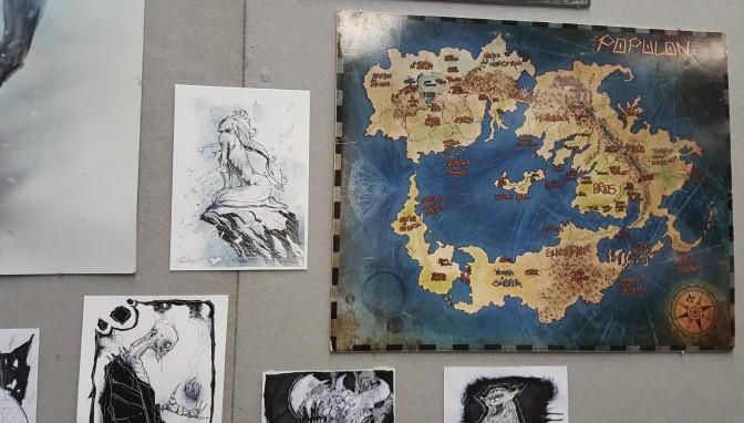 Cronache di Populon arte e mappa