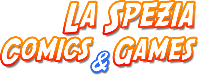 Logo la spezia comics and games
