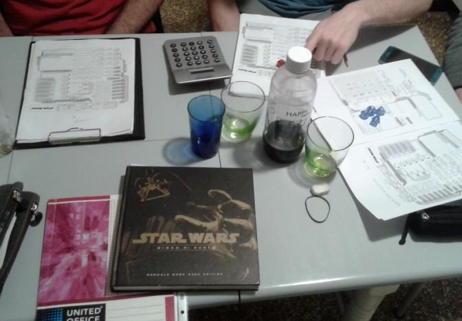 tavolo da gioco star wars saga