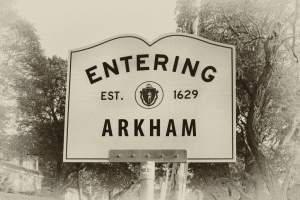 entering arkham