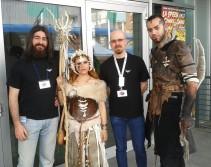 la spezia C&G redazione e cosplayer