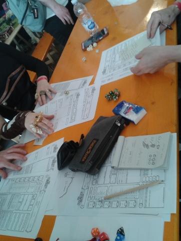 tavolo da gioco sessione D&D la spezia C&G
