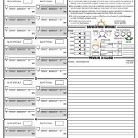 Schede personaggio GdrTales - D&D 3.5 (Pagina Paladino)