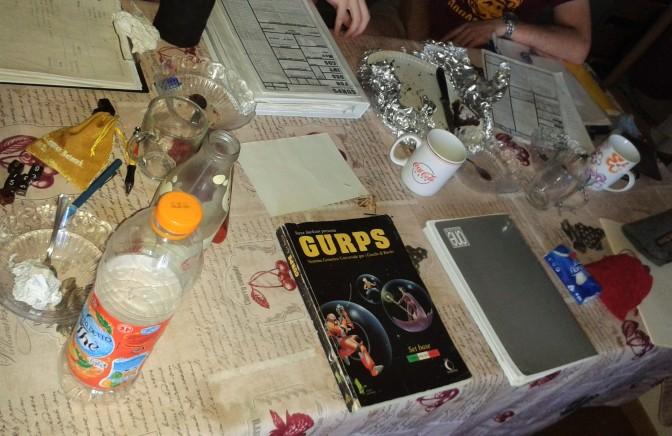 tavolo da gioco gurps con odio e dolore