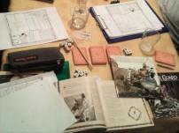 mouse guard MG tavolo da gioco