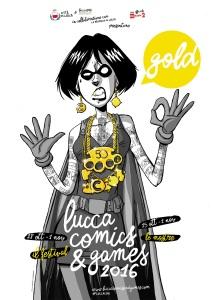 Locandina Lucca C&G 2016